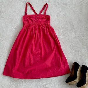 J.crew Dark pink Sun dress